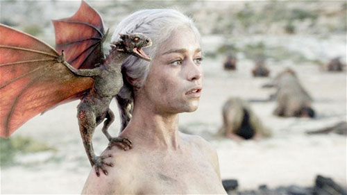 Game of Thrones and dragons
