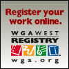 Secure your work at the world's leading registration service at wga.org